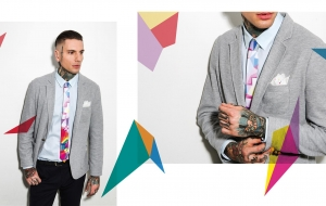 New 2015 Fall Necktie and Bow Tie Lookbook and a Great Fashion Startup Story