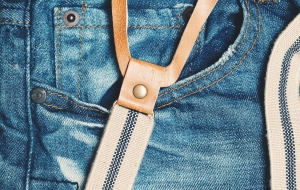 Class Up Your Style With Suspenders And Jeans