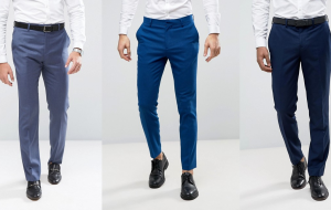 Blue Pants with Black Shoes – When it works and when not