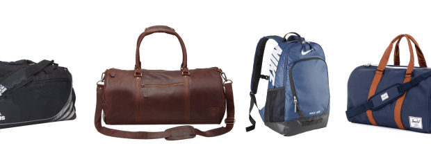 Gym Bags for Men Style Review: Four Different Style Options