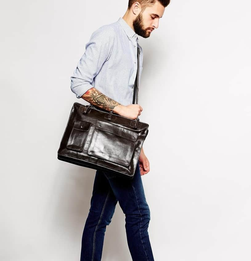 Leather Messenger Bags For Men Review: The Perfect Bag For ...